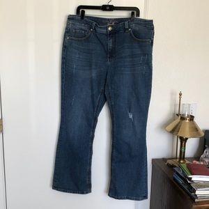 Melissa McCarthy Seven Bootcut Jeans Size 18W GUC